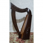 Rosewood Celtic Harp 9 Strings