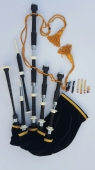 African Blackwood Highland Full Size Bagpipe Set